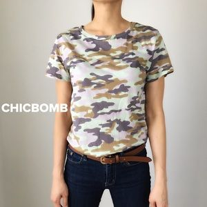 RAD Camo T-shirt top |